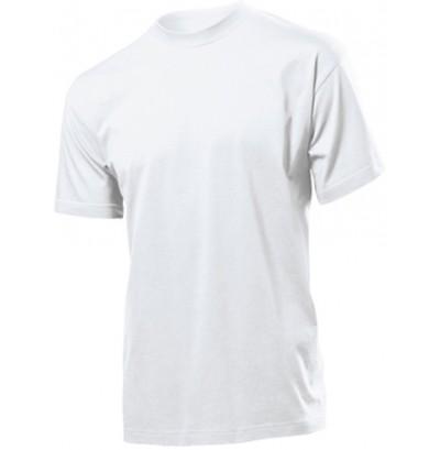 Vit T-shirt med tryck