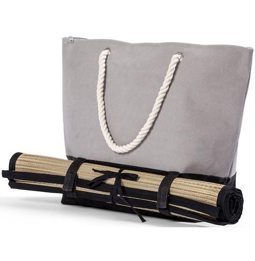Strandväska med matta med eget tryck