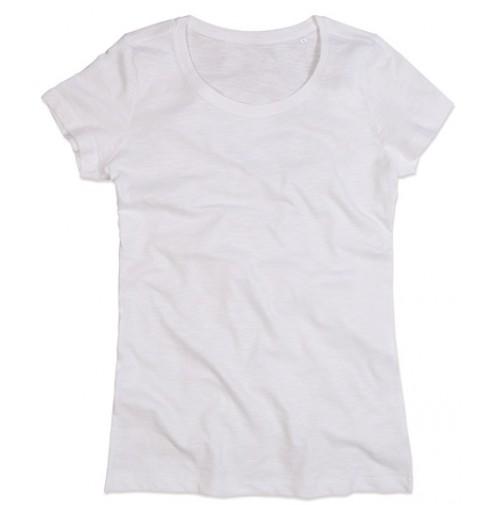Snygg Dam T-shirt med eget tryck
