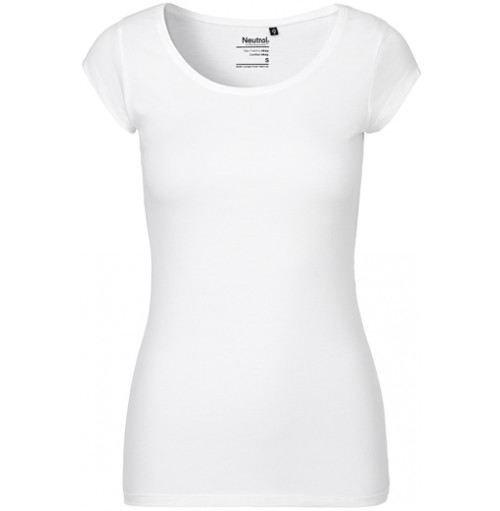 Dam T-shirt rättvisemärkt eko med eget tryck