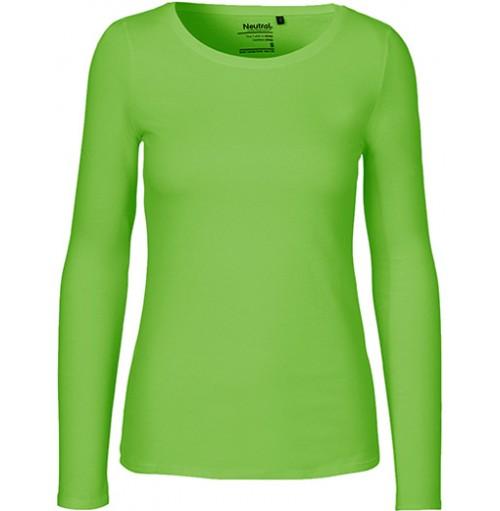 Långärmade Fairtrade ekologisk T-shirt