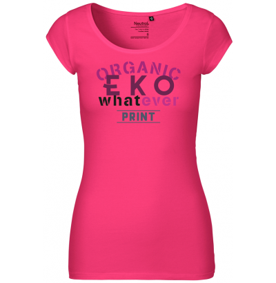 Dam T-shirt rättvisemärkt eko