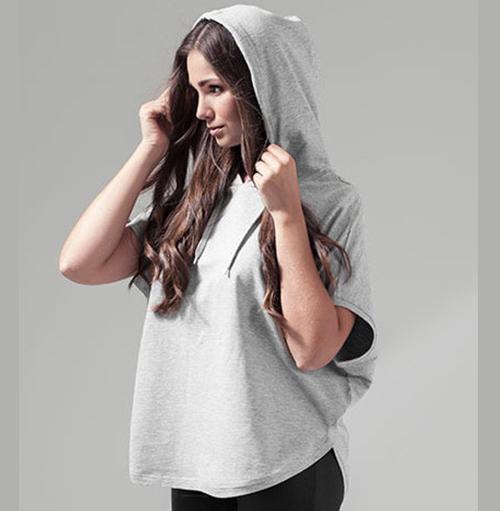 Ärmlös dam hoodie