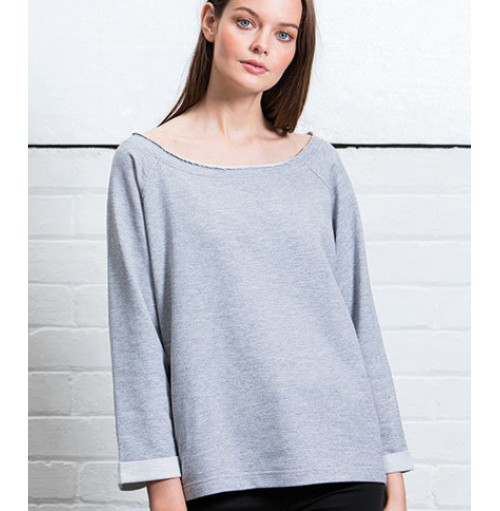Lös passform dam sweatshirts