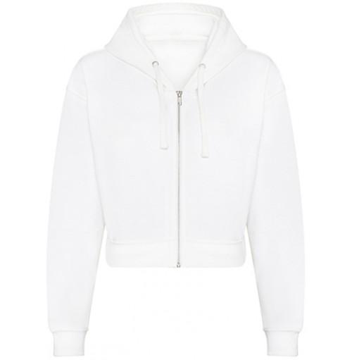 Kort dam zip hoodie