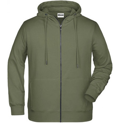 Högkvalitativ hoodie med dragkedja