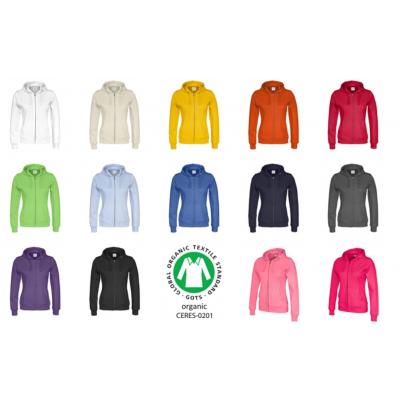 Fairtrade hoodtröja ekologiska kläder