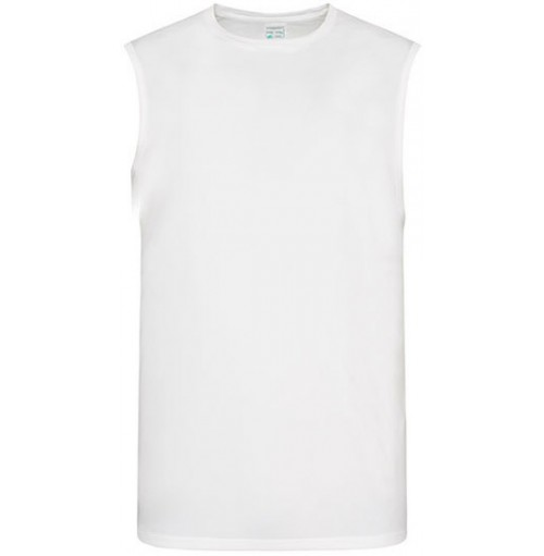 Ärmlös sport t shirt