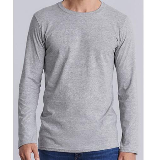 Långärmad T-Shirt Softstyle