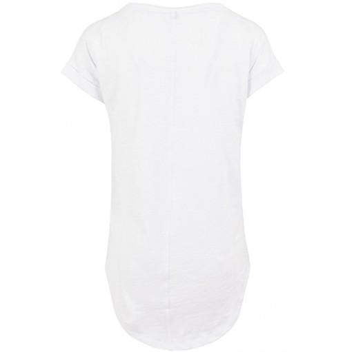 Lång t-shirt dam med eget tryck