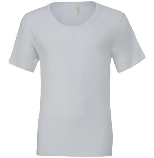 Djup halsringning T-shirt med eget tryck