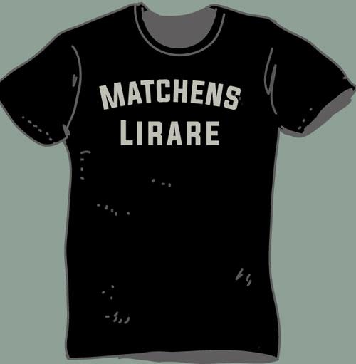 Matchens lirare t-shirt, vinnare eller...