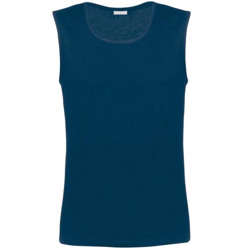 Ärmlös t-shirt linnen