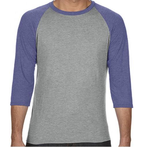 Trekvartsärm t-shirt tröja