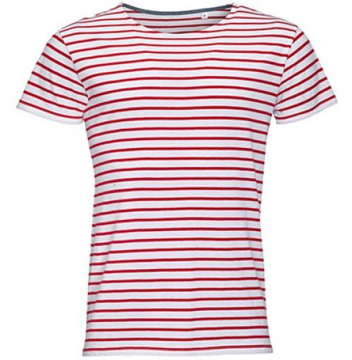 Randig T-shirt