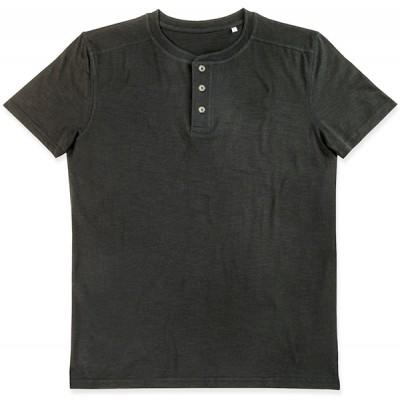 T-shirt med knappar